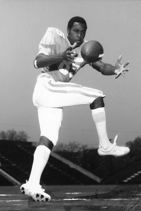 First Black Football Player Lester McClain