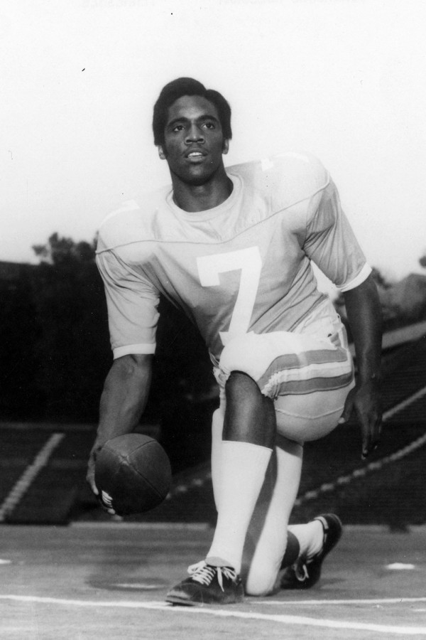 Condredge Holloway First Black Quarterback and Shortstop, All-Century Player