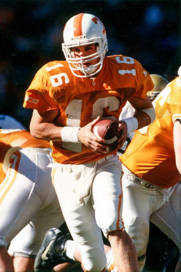 Peyton Manning Played Senior Season at UT
