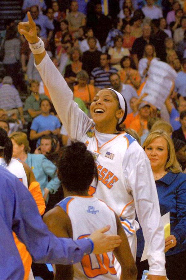Candace Parker Two-Time National Champion and Eighth Women's Basketball National Championship