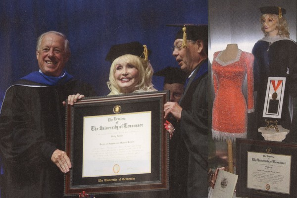 Honorary Degree for Dolly Parton